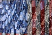 Americana / Heroes don't wear capes.......they wear dog tags! / by Andrea Watson