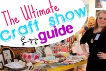 Craft show / Tips, tricks & advice for craft shows & craft booth displays  / by SewLovelyCupcake - Kristen