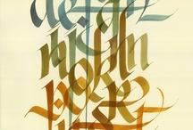 Lettering and Type / by Anton Kartashov
