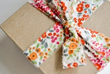 Brown paper packages tied up with string... / Packaging ideas / by SewLovelyCupcake - Kristen