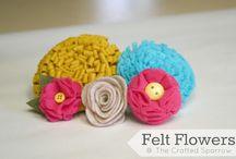 Flowers (fake) / by SewLovelyCupcake - Kristen