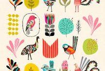 Patterns + Prints = FUN / RAD PRINTS / by •★ Celina Dorlich ★•