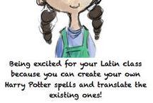 Language - Latin / by Andrea Watson