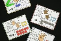Numbers / Fun, hands-on ways to teach counting and cardinality.