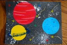 Space Activities / Must-try space activities for kids. Space crafts, printable games, kids' science and more.