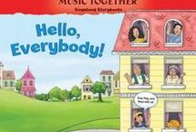 Singalong Story Books from Music Together / Some out favorite songs brought to life with these delightful books. Sing, play, and read along together.