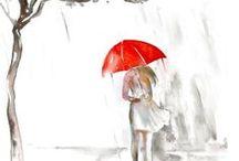 Red Umbrella / by Darla Cole