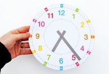 Telling Time / Hands-on ways to teach kids how to tell and write time in hours and half hours using analog and digital clocks.