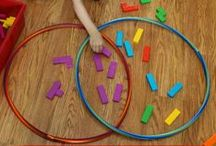 Measurement and Data / Fun ways to teach kids how to graph, measure and collect data. / by Malia // Playdough to Plato