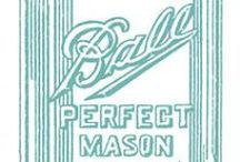 Mason ~ Mason ~ Mason! / Anything and everything related to Mason Jars! / by Paula Dishman Smith