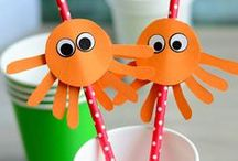 Summer Activities for Kids / Boredom busting summer activities for kids! Art and craft projects, science experiments, math games, outdoor activities... Lots of fun ideas!