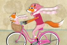 animals on bikes / by Darla Cole