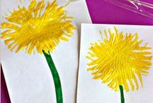 Flower Activities / Flower activities for kids! Flower crafts, games... even science projects. Perfect for a flower theme!
