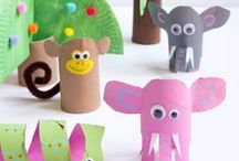 Jungle Theme Activities / Jungle theme activities great for a classroom theme with preschool and kindergarten.  Jungle crafts and games kids will love!
