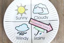 Weather Activities / Weather activities for kids! Science experiments, craft projects, learning games... awesome ideas for a weather unit!