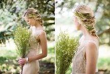 Wedding hair inspiration / Hair styles for bride, bridesmaid, prom, wedding guest