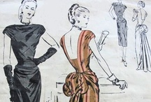 Sewing Patterns / Sewing is my passion.  I love vintage patterns. / by Phyllis Grant