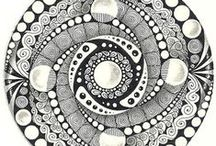 Doodle art / A collection of doodle artworks. Great way to relax and fun