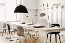 Home Office Designs / As more people are working from home these days, a creative, beautifully designed home office is important. This is a collection of designs from all over the world!