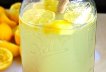 Recipes: Lemonade and other Refreshing Cold Drinks - non-alcoholic / by Allison Mayes