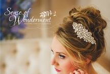 Wedding accessories and hair jewellery / Wedding hair jewellery