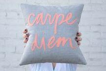 { i love pillows }