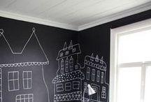 { chalkboard wall }
