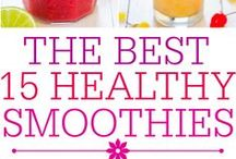 Thirst Quenchers! / Drinks, smoothies and ice-popsicles to keep you cool and hydrated!