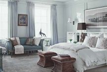 bedrooms / by Elke Richard