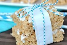 Rice Krispie Treat Addiction / Rice Krispie Treats are one of my favorite desserts. Go beyond the basic recipe and enjoy an over the top treat! / by Shugary Sweets