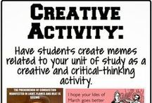 Lesson Ideas / by Viv b