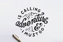 { typography / handlettering} / by andi.design