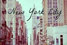 THE BIG APPLE . THE NYC . / ' Concrete jungle where dreams are made of  .'