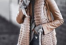Fall Closet / Cozy Sweaters, Mom Fashion, Blanket Scarves, Affordable Boots