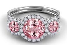 Juicy Colored Engagement Rings / A burst of color! / by Robbins Brothers