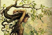 Dryads, Tree Nymphs, Sprites & Spirits / by ~ Vicki ~