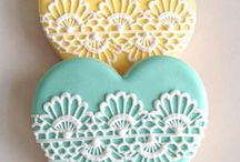 Cookies & decorations / Prettiest cookies ever / by Elke Richard