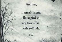 Solitude / by ~ Vicki ~