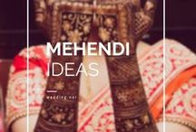 Mehendi Ideas / • India • Indian • weddingnet • wedding • ceremony • real wedding • bride • groom • hindu • sikh • south • photographer • photography • inspiration • mehendi designs • mehendi decor • mehendi outfit • henna • henna ideas • bridal mehendi •