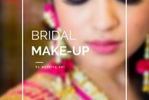 Bridal Make-Up / • weddingnet • wedding • india • indian • indian wedding • weddingdresses • mehendi • details • sweet • cute • gorgeous • fabulous •stylist • hairstyle • eyes • lips • muah • makeup • bridalmakeup • makeup for brown eyes • brown • idea • • inspiration • trendy • jewels • hairstyle •