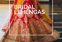 Bridal Lehengas / • weddingnet • wedding • india • indian • indian wedding • weddingdresses • mehendi • details • sweet • cute • gorgeous • fabulous •stylist • hairstyle • eyes • lips • muah • makeup • bridalmakeup • makeup for brown eyes • brown • idea • • inspiration • trendy • jewels • hairstyle •