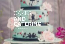 Cakes & Catering / THE MOST DELICIOUS BOARD! Gallery and collection ideas for wedding cakes, food, catering services for celebrating of your wedding. Let's inspire!
