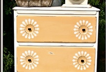 Furniture refinishing / by Kim Rowland (Today is My Someday)