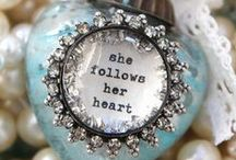 Finishing Touches / Trinkets, baubles, jewelry, accessories - things that add the perfect finishing touch! / by Stefanie Blue