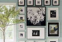 wall art ideas / creative inspiration for exceptional wall art displays / by Stefanie Blue
