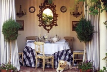 Home decor / In my next life I want to be an interior decorator. Love cottage style, English country, French country, anything monogrammed, tons of clutter and color and antiques. / by Maggie McGary