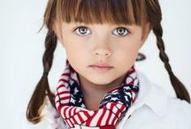 Hip Kids / great ideas for kids' outfits for child portraits