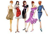 Female Trends  / Fashions I would wear and fashions I like / by Gloria Fontana