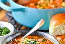 Soups & Salads / Soups and salads worth salivating over! / by Stefanie Blue