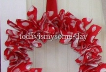 Red and White / by Kim Rowland (Today is My Someday)